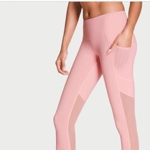 Victoria Sport Knockout Tights Pink Small